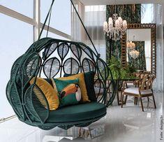 Mostra Artefacto Decor + Cinema no Rio - sablon Home Decor Furniture, Furniture Design, Home Interior Design, Interior Decorating, Living Room Decor, Bedroom Decor, Small Balcony Decor, Decoration Design, Swinging Chair
