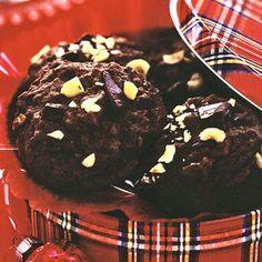 christmas cookies chocolate coffee chunks chocolate coffee chocolate whoopie pies holiday cookie