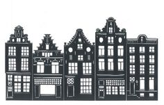drawings and papercuts| amsterdam artist | perfect gift | 020sbn.nl