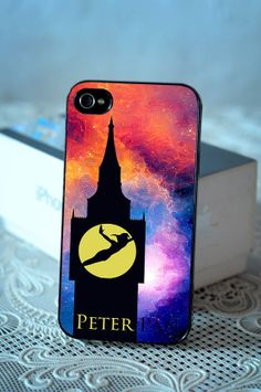Peter Pan iPhone case, Peter Pan Samsung Galaxy s3/s4 case, iPhone 4/4s case, iPhone 5 case