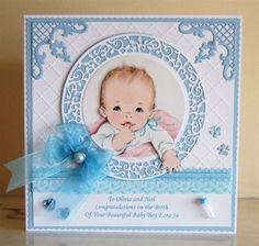 Welcome Baby Boy | docrafts.com