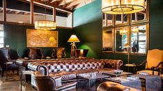 The Lone Wolf Cigar Company & Cigar Lounge is a high-end, private club located in Los Angeles.