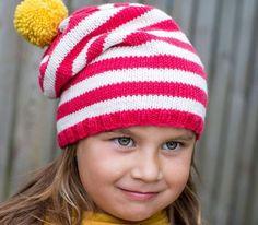Sticka mössa till barn på rundsticka beskrivning Stick O, Needlework, Knitted Hats, Knitting, Children, Crochet, How To Wear, Handmade, Beanies