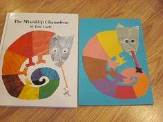 "Eric Carle Inspired ""Mixed Up Chameleon"" Kids Craft Project #77 | GummyLump.com Blog"