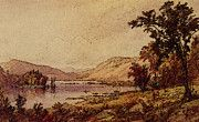 """New artwork for sale! - """" Greenwood Lake by Jasper Francis Cropsey """" - http://ift.tt/2oPaG9W"""