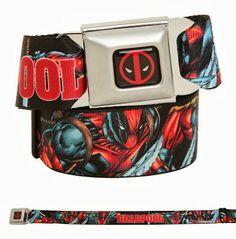 Deadpool Seatbelt Belts