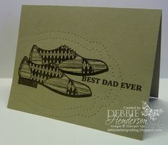 Debbie's Designs: Saturday Simple-Stampers for Others January Challenge!