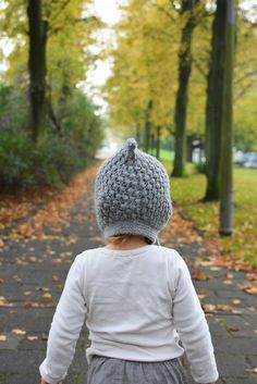 Sweet alpaca pixie hat from Nuvola Baby