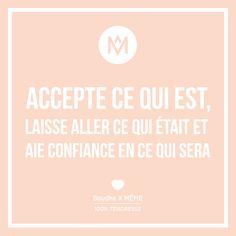[TENDRESSE] L'avenir nous réserve de si belles surprises, c'est sûr ! Belle semaine à toutes (Re)Découvrez toutes nos tendresses sur notre Blog ! #accepter #vivre #confiance #inspirationalquote #inspiration #quote #citation #MEME #memecosmetics #Boudha #laisseraller