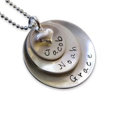 Necklace with kid names