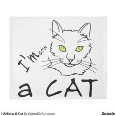 I AMeow A Cat Duvet Cover