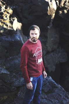 Adventure Sweater. N #men #menfashion #fashion #mensfashion #manfashion #man #fashionformen