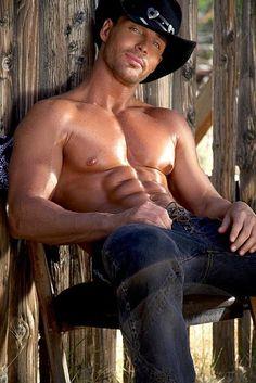 Dark Cowboy. #sexy #sexy men http://www.theeroticwoman.com