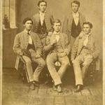 Early U.T. students (November 16, 1864).