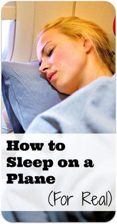 We all just want to sleep on long-haul flights. Here's how.