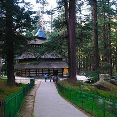 Hidimdi Devi Temple is one of the famous attractions in Manali, Himachal Pradesh #Manali #travel #India #tourism #touristsports