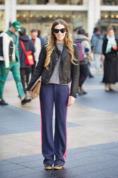 ELLE.com's Leah Melby in Rag & Bone and Burberry #streetstyle #NYFW #fashionweek