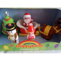 Play and Learn Everyday: Happyland Christmas Set