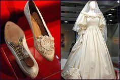 Lady Diana detalhes do vestido de casamento