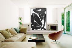Enorme grote canvasafdrukken is een uniek tintje aan uw huis. Modern, stijlvol en uniek ontwerp zal worden het meest bijzondere stuk van uw inrichting. Vooral voor degenen die graag abstracte werken, kan zwart / wit Acryl schilderij worden bereid in de gewenste maten grote zwart-wit