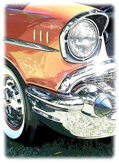 1957 Chevy. QuirkyRides.com.