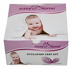 Easy@Home 50 Ovulation Test Strips and 20 Pregnancy Test Strips Combo Kit, (50 LH   20 HCG) -- You can find more details by visiting the image link. Amazon Affiliate Program's Ads.