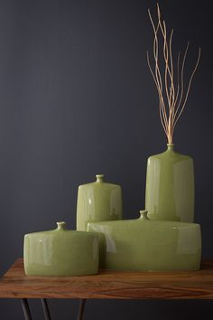 New vases from Surya have unique shapes and a great modern flair to them.
