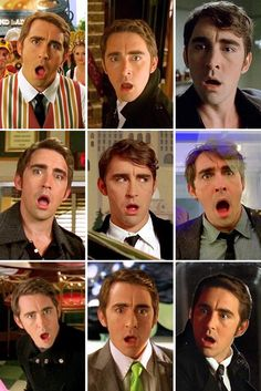 Ned faces. << One of the many things I love about Pushing Daisies is the Pace Face.