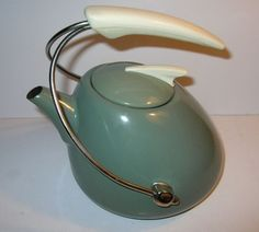 1950s Atomic Tea Kettle