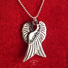 FREE SHIPPING Angel wings  necklaces Pendant от BorowskiStore