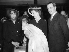 Richard Brandram, Marina, Princess of Kent  his son Paul and his wife Princess Katherine of Greece, (right to left)2