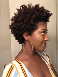 Tapered Twa, Tapered Hair, Afro Hairstyles, Natural Hairstyles, Natural Hair Cuts, Hair Flow, Big Chop, Dream Hair, Hair Journey