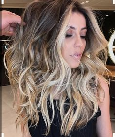 Balayage Blondes and browns hair