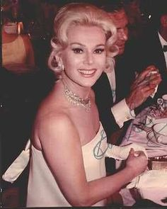 Eva Gabor couple