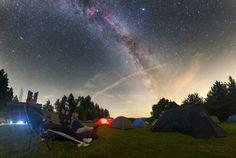 De belles étoiles filantes sous la Lune, et autres rendez-vous astronomiques   Autour du Ciel
