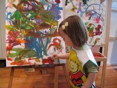 Nice list of art/sensory activities for toddlers