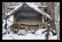 My Hut by CitizenOlek on deviantART After the reset..might have to hid here for awhile...
