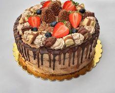 Kinder Bueno torta – Cake by fari Cake Designs, Nutella, Tiramisu, Fondant, Biscuits, Sweets, Cookies, Ethnic Recipes, Lighthouses
