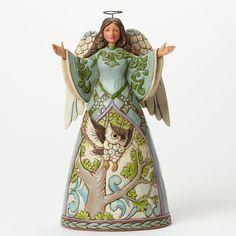 The Way Of Wisdom Angel with Owl Dress