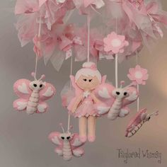 Fairy Mobile Ballet Mobile Baby Mobile not by TayloredWhimsy
