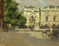 Bernard Dunstan - Senate House, Cambridge