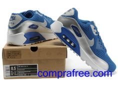 competitive price 4e72f 5e69d Comprar barato hombre Nike Air Max Zapatillas (color:azul,plata) en linea  en Espana.