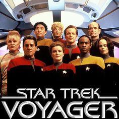 Voyager before Seven of Nine...