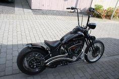 Harley 1200 XLH Custom HD Sportster bobber chopper eigenbouw