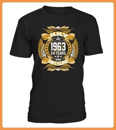 July 1963 54 Years Of Being Awesome TShirts (*Partner Link)