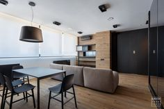@igorsirotov design an apartment for a young man in a modern style #livingroom