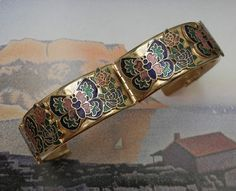 Bracelete Borboleta Vintage Anos 70