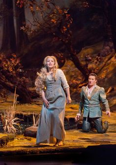 Renée Fleming and Piotr Beczala, Rusalka. photo c/o the Met. Read review at: http://www.whattravelwriterssay.com/performingarts.html