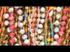 Beadmaking with Widows in Gulu, Northern Uganda - YouTube