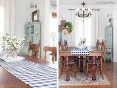 Farmhouse Dining Room   Table   Cottage   Nappanee Furniture